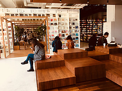 April 18, 2018 - Beijin, Beijin, China - Beijing, CHINA-18th April 2018: The 24-hour Page One Book Store at Qianmen Street in Beijing. (Credit Image: © SIPA Asia via ZUMA Wire)