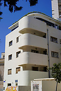 Bauhaus Architecture at 3 Strauss Street, Tel Aviv White City. The White City refers to a collection of over 4,000 buildings built in the Bauhaus or International Style in Tel Aviv from the 1930s by German Jewish architects who emigrated to the British Mandate of Palestine after the rise of the Nazis. Tel Aviv has the largest number of buildings in the Bauhaus/International Style of any city in the world. Preservation, documentation, and exhibitions have brought attention to Tel Aviv's collection of 1930s architecture.