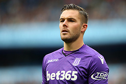 Jack Butland of Stoke City - Mandatory by-line: Matt McNulty/JMP - 14/10/2017 - FOOTBALL - Etihad Stadium - Manchester, England - Manchester City v Stoke City - Premier League