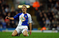 Photo: Paul Greenwood.<br />Blackburn Rovers v West Ham United. The Barclays Premiership. 17/03/2007.<br />Dejection for David Bentley as he misses an easy chance
