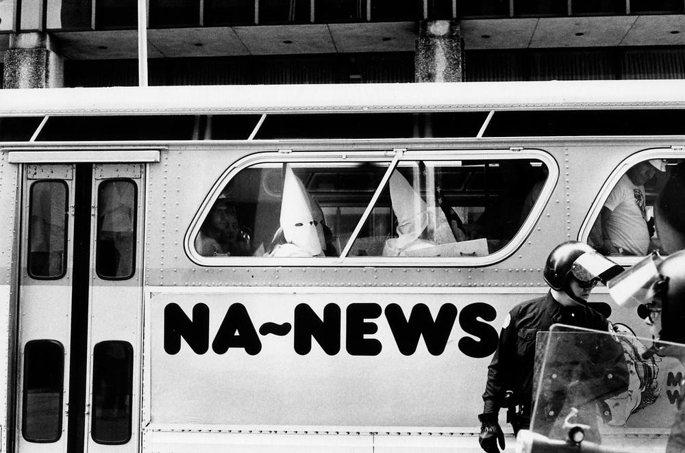 Ku Klux Klan rally, Dallas texas, 1983