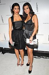 Kim Kardashian and Kourtney Kardashian attend the Fontainebleau Miami Beach Grand Opening Party. in Miami Beach, FL, USA, on November 14, 2008. Photo by Lionel Hahn/ABACAPRESS.COM  | 170080_012