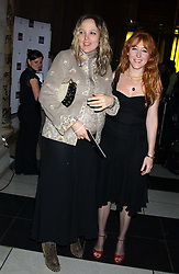 Left to right, BAY GARNETT and CHARLOTTE TILBURY at the 2005 British Fashion Awards held at The V&A museum, London on 10th November 2005.<br /><br />NON EXCLUSIVE - WORLD RIGHTS