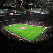 Galatasaray's and Sivasspor's during their Turkish Superleague soccer match Galatasaray between Sivasspor at the Turk Telekom Arena at Aslantepe in Istanbul Turkey on Sunday 23 January 2011. Photo by TURKPIX