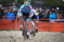 January 5, 2019 - Gullegem, BELGIUM - Belgian Michael Vanthourenhout pictured in action during the men elite race of the Gullegem Cyclocross, Saturday 05 January 2019 in Gullegem, Belgium. BELGA PHOTO DAVID STOCKMAN (Credit Image: © David Stockman/Belga via ZUMA Press)