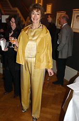 Actress MAUREEN LIPMAN at a party to celebrate the publication of an autobiography <br />by the late Jack Rosenthal at The Fine Art Society, 148 New Bond Street, London W1 on 21st April 2005.<br /><br />NON EXCLUSIVE - WORLD RIGHTS