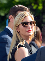 Assistant to the President Ivanka Trump prior to United States President Donald J. Trump and Prime Minister Narendra Modi of India delivering joint statements in the Rose Garden of the White House in Washington, DC, USA, on Monday, June 26, 2017. Photo by Ron Sachs/CNP/ABACAPRESS.COM