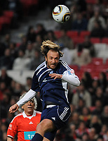 20100125: LISBON, PORTUGAL - 7th Charity Football Match against Poverty: SL Benfica All Stars vs Zidane & Kaka Friends. All the money rose from ticket sales and donations will go to the victims of Haiti Earthquake. In picture: Dugarry. PHOTO: Alvaro Isidoro/CITYFILES