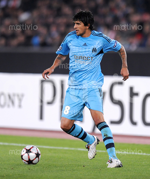 FUSSBALL  International  Champions League  SAISON 2009/2010   21.10.2009 FC Zuerich - Olympique Marseille  Lucho (Marseille)