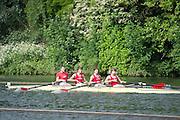 Henley Royal Regatta, Henley on Thames, Oxfordshire, 3-7 July 2013.  Thursday  09:14:20   04/07/2013  [Mandatory Credit/Intersport Images]<br /> <br /> Rowing, Henley Reach, Henley Royal Regatta.<br /> <br /> The Prince Albert Challenge Cup<br /> Delftsche Studenten Roeivereeniging Laga, Holland