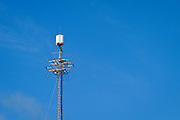 Television broadcast antenna on communications tower in Cooktown, Queensland <br /> <br /> Editions:- Open Edition Print / Stock Image