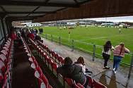 Carmarthen, UK. 4 January, 2020.<br /> Carmarthen Athletic v Tenby United Specsavers National League 2 West rugby match.<br /> Credit: Gruffydd Ll. Thomas