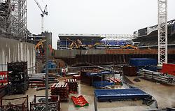 6 June 2017 - Demolition of White Hart Lane<br /> A general view (gv) of demolition at White Hart Lane<br /> Photo: Mark Leech