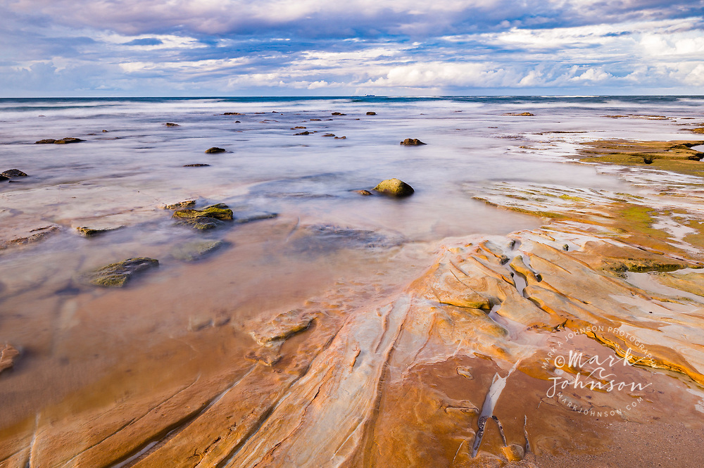 Tide pools, Dicky Beach, Sunshine Coast, Queensland, Australia