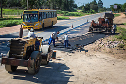 Banco de imagens das rodovias administradas pela EGR - Empresa Gaúcha de Rodovias. ERS-040 trecho de Viamão para Pinhal, com obra em execução nos quilômetros 61 a 63. FOTO: Jefferson Bernardes/ Agencia Preview
