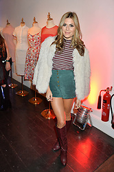 ZOE HARDMAN at the Cointreau launch for Yumi by Lilah Parsons SS/16 collection held at 15 Bateman Street, London on 1st December 2015
