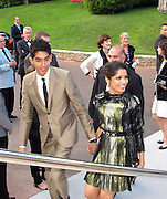 Dev Patel and Frida Pinto..2011 amfAR's Cinema Against AIDS Gala Inside..2011 Cannes Film Festival..Hotel Du Cap..Cap D'Antibes, France..Thursday, May 19, 2011..Photo By CelebrityVibe.com..To license this image please call (212) 410 5354; or.Email: CelebrityVibe@gmail.com ;.website: www.CelebrityVibe.com.**EXCLUSIVE**