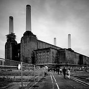 Battersea power station, London, England (October 2006)
