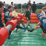 Straatvoetbaltoernooi 1998 bij SV Huizen