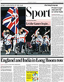 August 25, 2021 - UK: Front-page: Today's Newspapers In United Kingdom