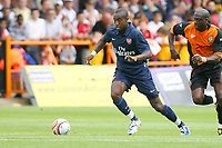 Football<br /> <br /> Arsenal player Johan Djourou at the Friendly Match between Barnet FC and Arsenal 18 July 2009<br /> <br /> Credit: Colorsport / Andy Robinson