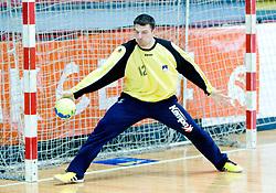 Primoz Prost at practice of Slovenian Handball Men National Team, on June 4, 2009, in Arena Kodeljevo, Ljubljana, Slovenia. (Photo by Vid Ponikvar / Sportida)