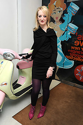 CAMILLA MORTON at a party to celebrate the publication of her book 'A Year in High Heals' held at Bliss Spa, 60 Slaone Avenue, London on 5th February 2009.