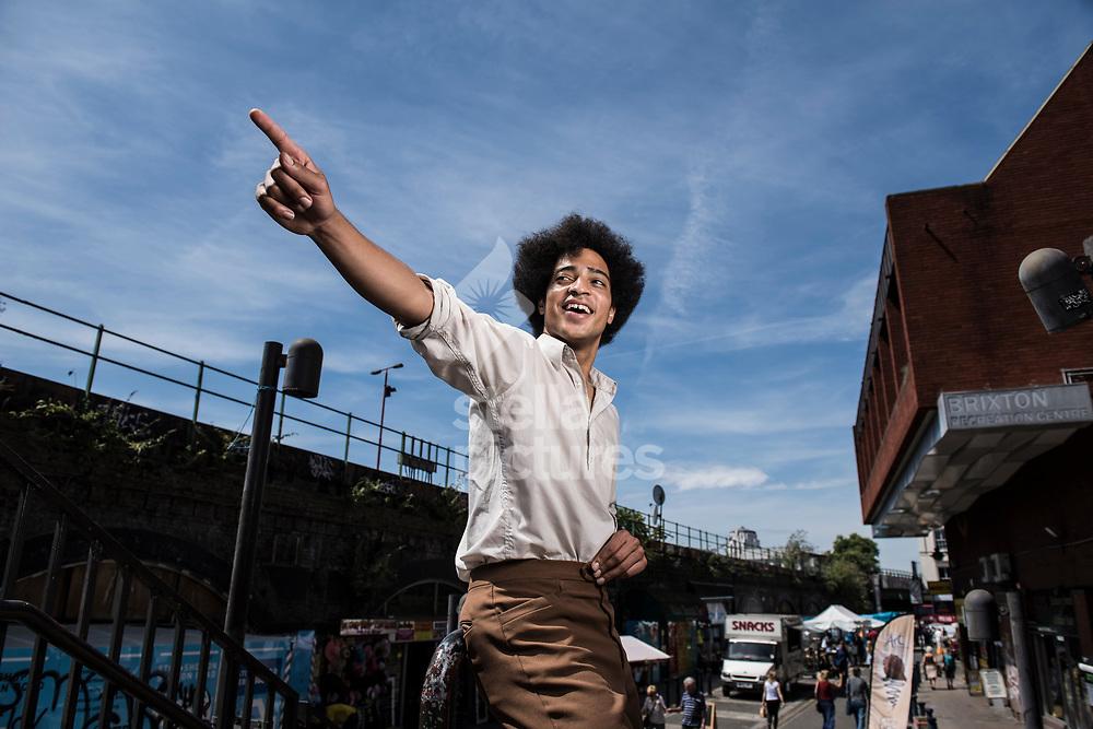 Musician Ben Romans Hopcraft pictured in Brixton. <br /> Picture by Daniel Hambury/Stella Pictures Ltd 07813022858<br /> 18/07/2017