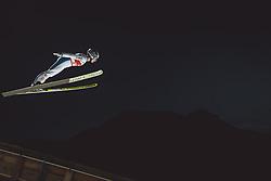 02.03.2021, Oberstdorf, GER, FIS Weltmeisterschaften Ski Nordisch, Oberstdorf 2021, Damen, Skisprung, HS137, Einzelbewerb, Qualifikation, im Bild Sophie Sorschag (AUT) // Sophie Sorschag of Austria during the qualification jump for the women ski Jumping HS137 single competition of FIS Nordic Ski World Championships 2021 Oberstdorf, Germany on 2021/03/02. EXPA Pictures © 2021, PhotoCredit: EXPA/ Dominik Angerer