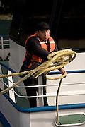 Docking ferry, Lake Todos los Santos, Chile