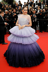 May 14, 2019 - Cannes, Alpes-Maritimes, Frankreich - Araya Hargate attending the opening ceremony and screening of 'The Dead Don't Die' during the 72nd Cannes Film Festival at the Palais des Festivals on May 14, 2019 in Cannes, France (Credit Image: © Future-Image via ZUMA Press)