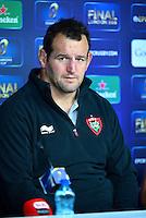 Carl HAYMAN - 01.05.2015 - Conference de presse Toulon avant la finale - European Rugby Champions Cup -Twickenham -Londres<br /> Photo : David Winter / Icon Sport