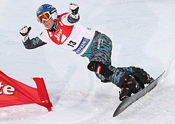 09.01.2011, Bad Gastein, AUT, FIS Weltcup Snowboard, Bad Gastein, im Bild ..Heidi NEURURER (AUT) while competing during the final runs in the LG Snowboard FIS World Cup 2011 in Bad Gastein, EXPA Pictures © 2011, PhotoCredit: EXPA/ S. Kiesewetter