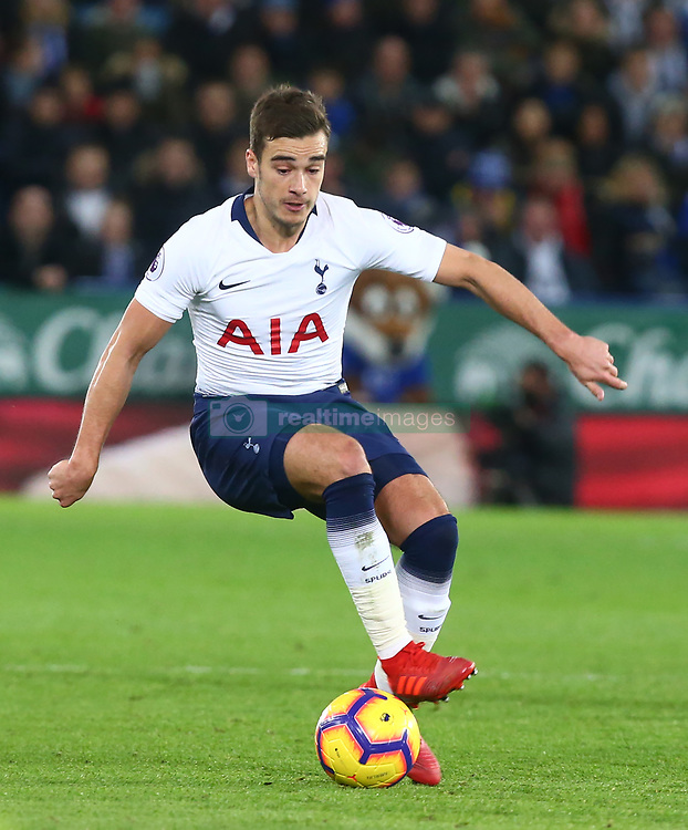 December 8, 2018 - Leicester, England, United Kingdom - Leicester, December 08, 2018.Tottenham Hotspur's Harry Winks.during the English Premier League match between Leicester City and Tottenham Hotspur at the King Power Stadium in Leicester, Britain, 8 December 2018  (Credit Image: © Action Foto Sport/NurPhoto via ZUMA Press)