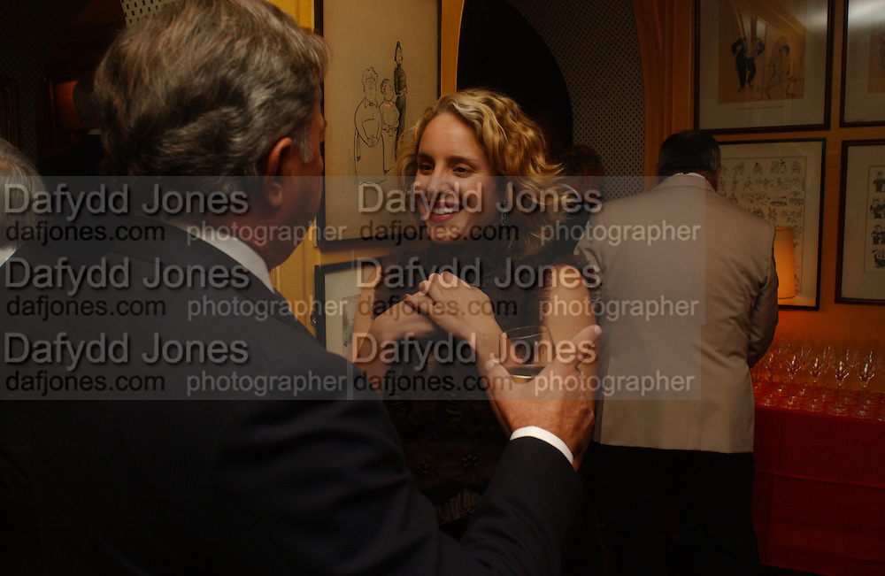 Mandoilyna Theodorakopoulos, Party given by Taki and Alexandra Theodorakopoulos. Annabels. London. 26 September 2006. -DO NOT ARCHIVE-© Copyright Photograph by Dafydd Jones 66 Stockwell Park Rd. London SW9 0DA Tel 020 7733 0108 www.dafjones.com