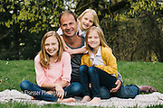 Ryan and Inga Family Portrait on Mt. Tabor