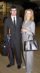 MR TIM & LADY HELEN TAYLOR at a reception<br />  in London on 11th May 2000. ODU 86