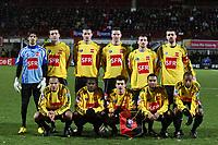 FOOTBALL - FRENCH CUP 2009/2010 - 1/8 FINAL - 09/02/2010 - US QUEVILLY v STADE RENNAIS - PHOTO ERIC BRETAGNON / DPPI - TEAM QUEVILLY