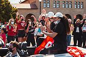 April 05, 2021 - CA: Stanford NCAA Women's Basketball Tournament Championship Parade Celebration