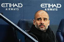 Manchester City manager Pep Guardiola - Mandatory by-line: Matt McNulty/JMP - 20/01/2018 - FOOTBALL - Etihad Stadium - Manchester, England - Manchester City v Newcastle United - Premier League