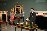 Frank Partridge and Charlotte  Partridge of FP Fine Art , The opening  day of the Grosvenor House Art and Antiques Fair.  Grosvenor House. Park Lane. London. 14 June 2006. ONE TIME USE ONLY - DO NOT ARCHIVE  © Copyright Photograph by Dafydd Jones 66 Stockwell Park Rd. London SW9 0DA Tel 020 7733 0108 www.dafjones.com