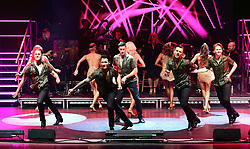 AJ Pritchard, Giovanni Pernice, Pasha Kovalev and Neil Jones perform during the Strictly Come Dancing Professionals UK Tour at Elstree Studios, London.