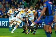 Liam Messam breaks out of a Force tackle. Super Rugby, Western Force v Chiefs. Perth, Western Australia, nib Stadium. Friday 6th April 2012. Photo: Daniel Carson  Photosport.co.nz