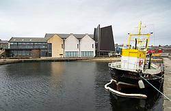 Exterior view of Shetland Museum in Lerwick, Shetland , Scotland, UK
