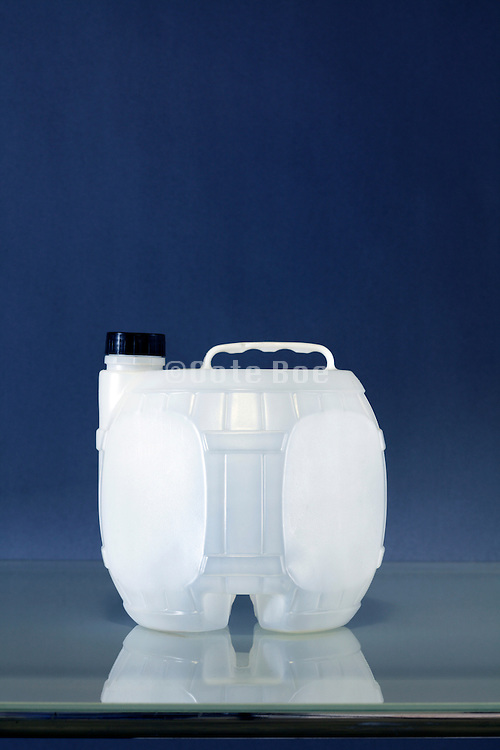 traditional old style plastic wine canister France