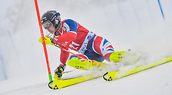 13.11.2016, Black Race Course, Levi, FIN, FIS Weltcup Ski Alpin, Levi, Salalom, Herren, 1. Lauf, im Bild Dave Ryding (GBR) // Dave Ryding of United Kingdom in action during 1st run of mens Slalom of FIS ski alpine world cup at the Black Race Course in Levi, Finland on 2016/11/13. EXPA Pictures © 2016, PhotoCredit: EXPA/ Nisse Schmidt<br /> <br /> *****ATTENTION - OUT of SWE*****