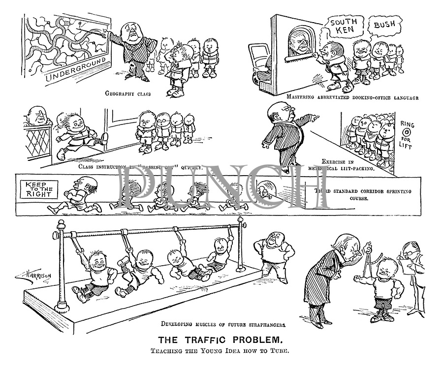 The Traffic Problem. Teaching the Young Idea how to Tube.