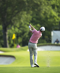May 26, 2019 - Fort Worth, TX, USA - Justin Rose of England during the final round of the 2019 Charles Schwab Challenge PGA at Colonial Country Club. Rose was last year's Colonial champion. (Credit Image: © Erich Schlegel/ZUMA Wire)