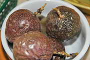 whole ripe Passion Fruit (Passiflora)