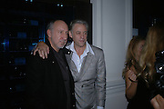 Pete townshend and Bob Geldof, First night party for High Society. Shanghai Blues. High Holborn.  October 10 2005. ONE TIME USE ONLY - DO NOT ARCHIVE © Copyright Photograph by Dafydd Jones 66 Stockwell Park Rd. London SW9 0DA Tel 020 7733 0108 www.dafjones.com